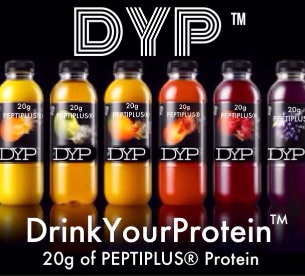 "DYP™ DrinkYourProtein™ 15 grams of protein BodyBalance™ DYPDrinks.com  A new clinical study published in the ""British Journal of Nutrition"" raises hope: in combination with resistance training specific collagen peptides developed by GELITA, the world's leading expert for collagen science and clinical research, significantly increase muscle mass and strength and decrease fat."