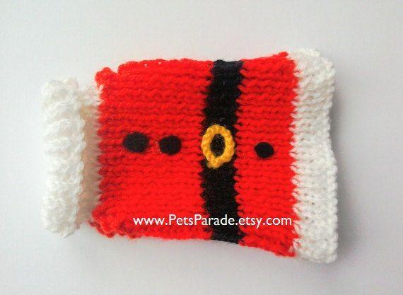 Perro suéter traje de la Navidad perro ropa de perro rojo