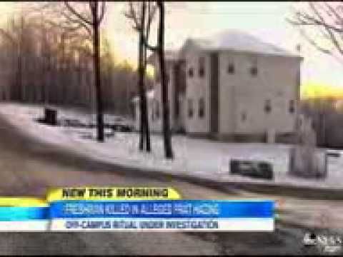 ▶ College Freshman Dies After Alleged Fraternity Hazing - YouTube