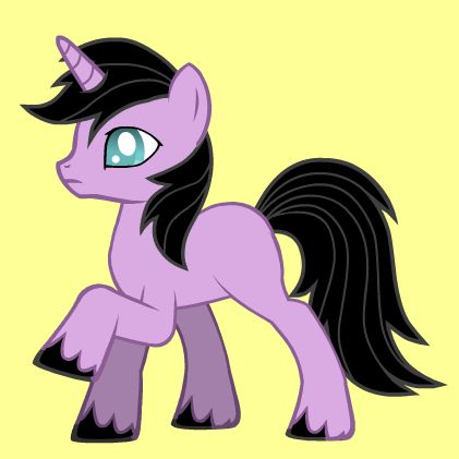 My attempt to make a pony-version of Zander from Rinmaru's Ascension games. Made w/ this pony creator: http://www.dolldivine.com/mlp-fim-pony-creator.php