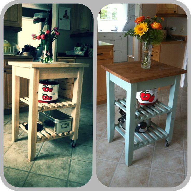 Ikea Kitchen Cart Hack: 1000+ Images About DIY - IKEA Hack On Pinterest