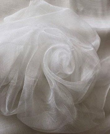MARGILAN silk gauze - is famous for its excellent quality,high-strength material.Perfect for felting scarves,stoles and other fine works that require gloss elegance and tenderness.Gives a nice texture, especially when draping. Excellent dumped with different materials - wool, fiber fleece. Gas perfectly painted, preserving natural pearl luster.This fabric is very sheer and has open structure that similar to cheese cloth. Can be used for nuno felting scarves.90/93cm,1yard in wide.You can...