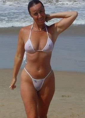 Mature women bathing suits beach share your