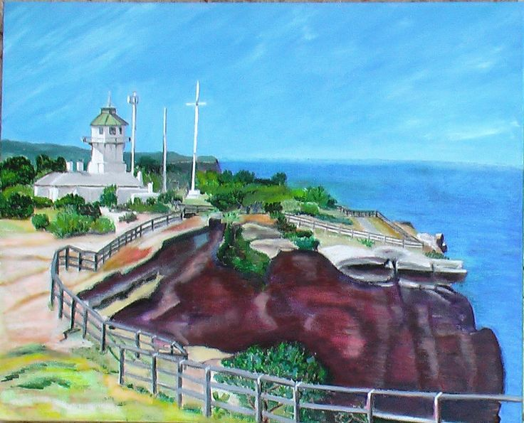 Signal Tower South Head Acrylics on canvas 2010