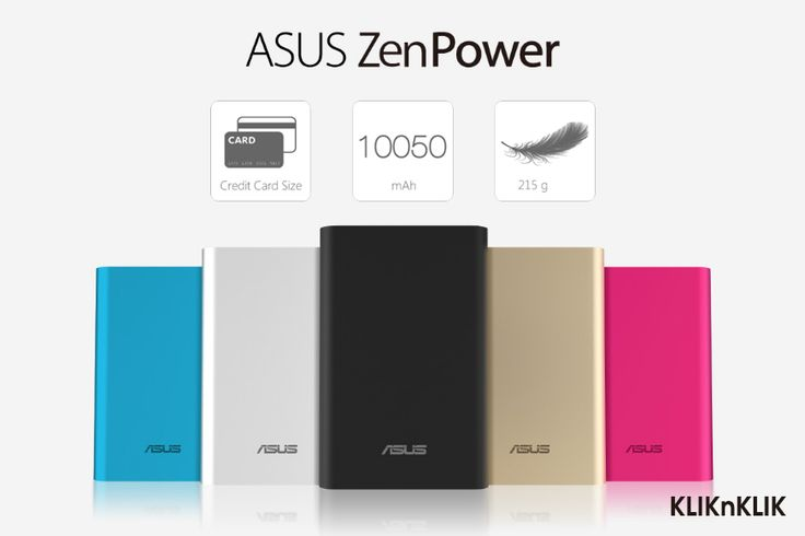 ASUS ZenPower. Kecil, ringan, dan Powerful. Pas Dalam Genggaman Tangan Kamu.  Beli disini http://j.mp/PowrBank