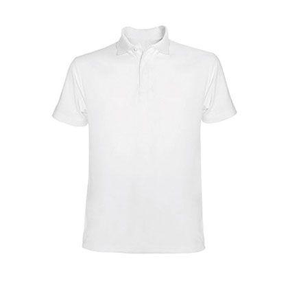Polo blanc avec marquage personnalisable au choix ! Faites vos lots !