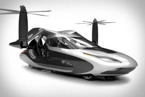 TF-X- первый летающий автомобиль