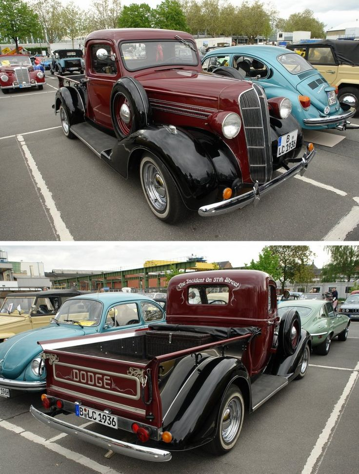 1936 dodge truck.. Love if a Girl picked me up in this dreammmin :)