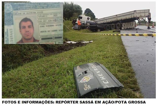 BLOG DO MARKINHOS: Novatebense morre após colisão entre S10 e caminhã...