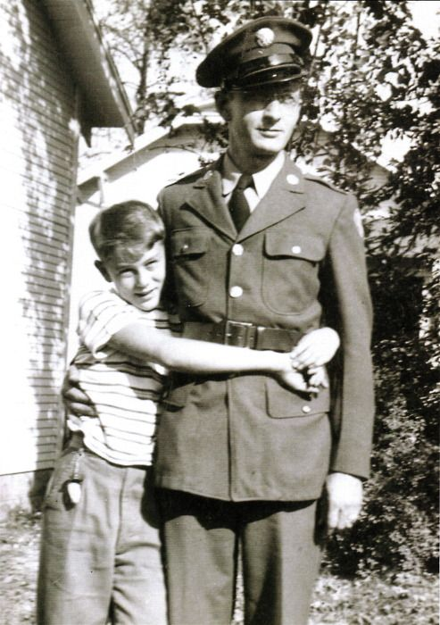 James Dean with his father #jamesdean #father #dadandson
