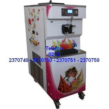ADY191Y YOĞURT DONDURMA MAKİNASI:Son zamanların en popüler soğuk tatlılarında olan frozen yoğurt ürününü bu makineyle yapı satabileceksiniz.Güçlü üretilen soğutma sistemiyle hazne içerisine koyduğunuz ürünü eşit olarak soğutarak frozen yani donmuş yumuşak yoğurt haline getirir. Frozen yoğurt makinesi 2 yıl garantili olarak satılıyor - Avmler için en kaliteli otomatik kollu soft frozen yoğurt dondurma makinalarının tek musluklu-2-3 musluklu modellerinin en ucuz fiyatlarıyla satışı 0212…