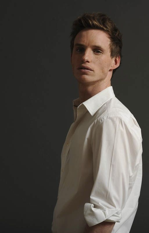 Eddie Redmayne- how come he was kinda ugly in les miserables but here he is...well....just look at him
