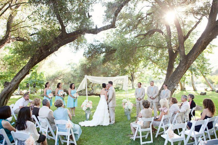 Do It Yourself Outdoor Wedding Ideas Outdoor Weddings Do: Do It Yourself Country Chic Wedding