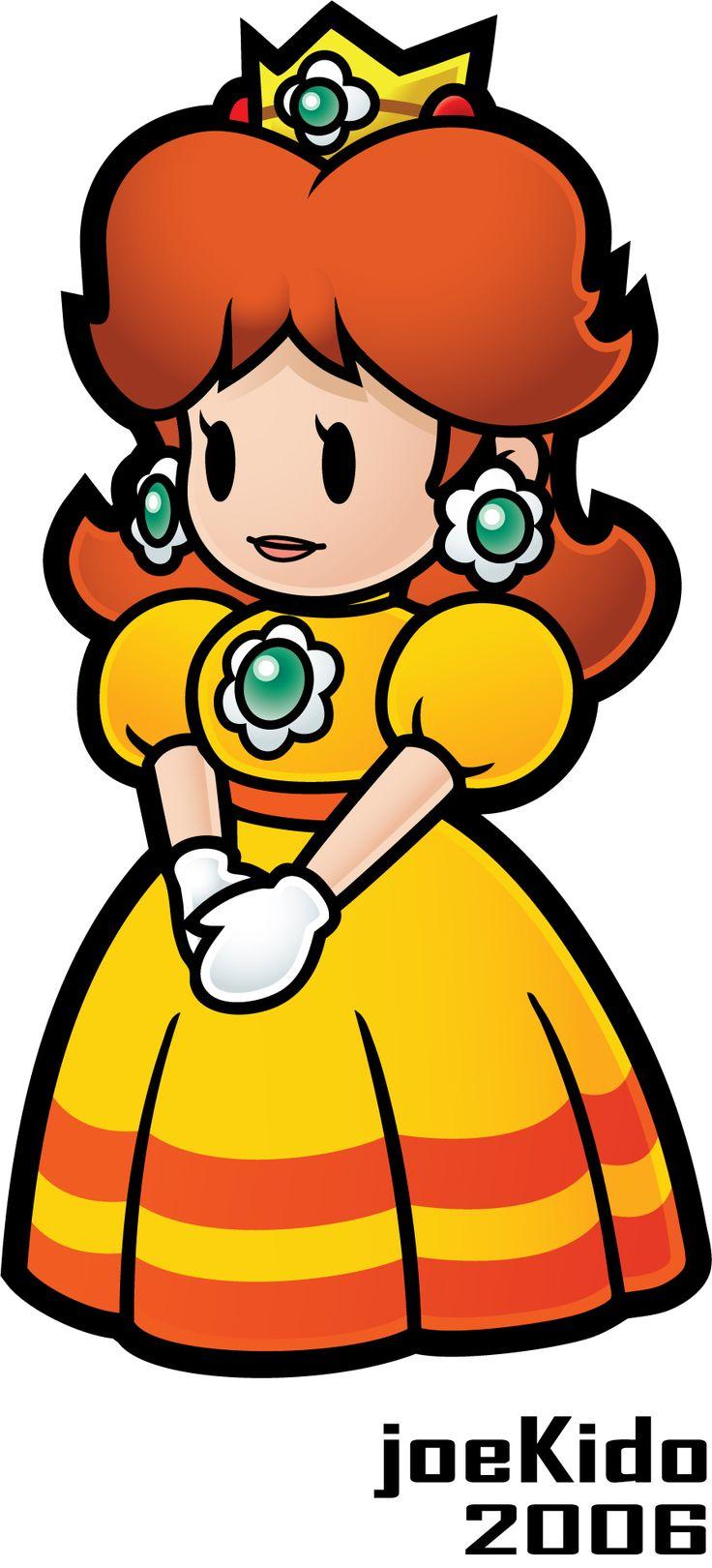 Paper Princess Daisy