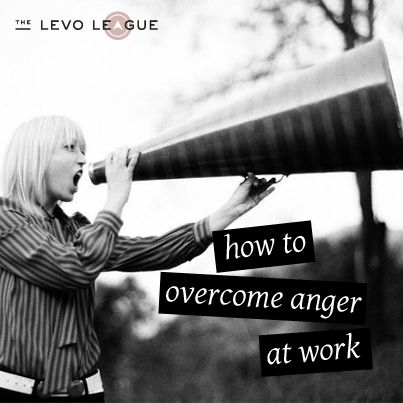 How to overcome anger at work