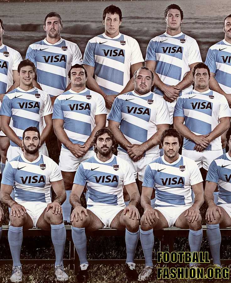 Argentina Nike 2012/13 Home Rugby Kit