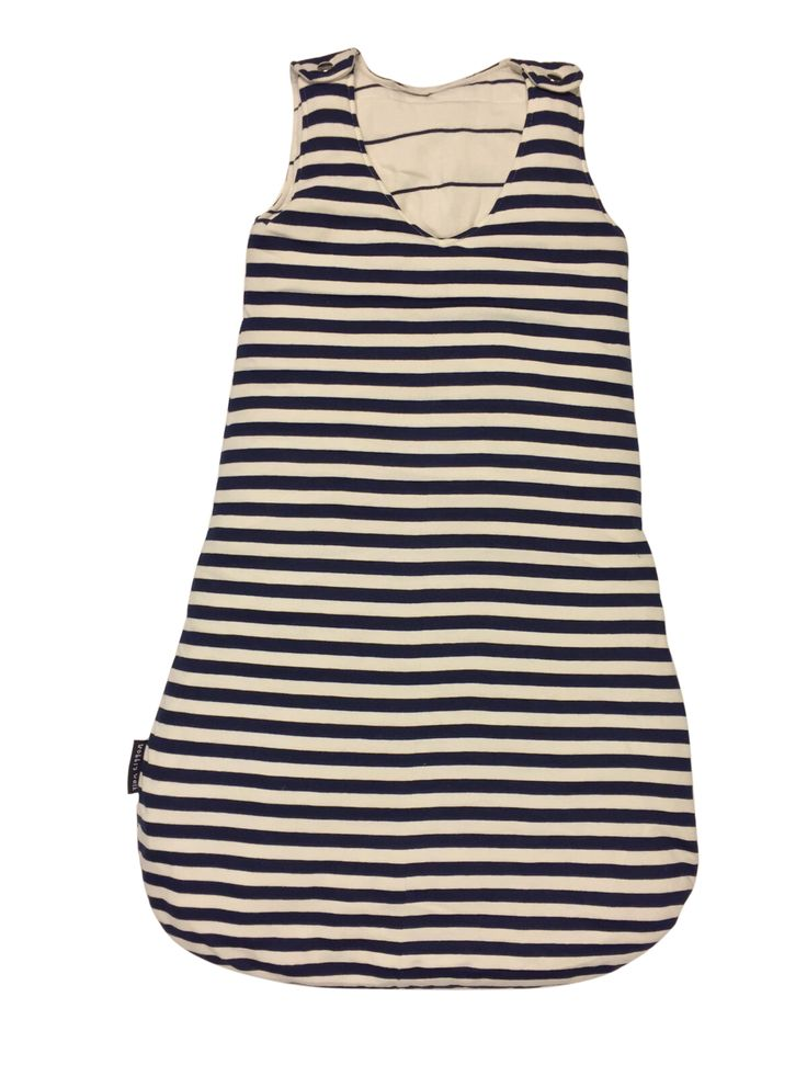 Warm and Cozy Made from Ultra-Soft Hosiery Color: Blue and White Striped Size: upto 2years Free Shipping Made in INDIA