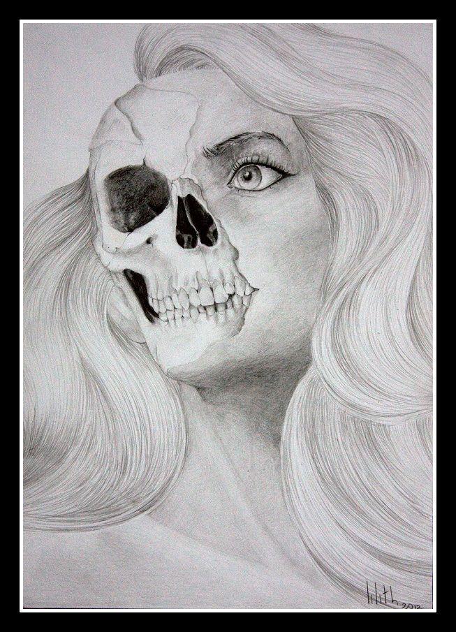 """""""Demon"""" drawing by Rude Mleko"""