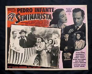 Resultado de imagen para portadas de pelicula de pedro infante seminarista