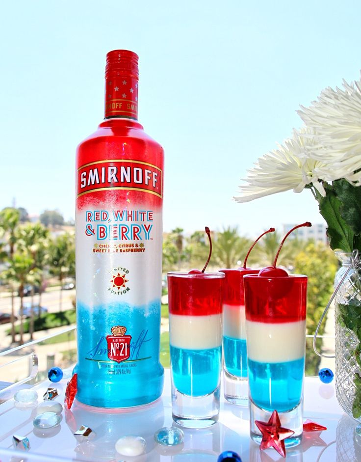 Smirnoff Red White Berry Shooters Bebidas Alcoholicas Juegos