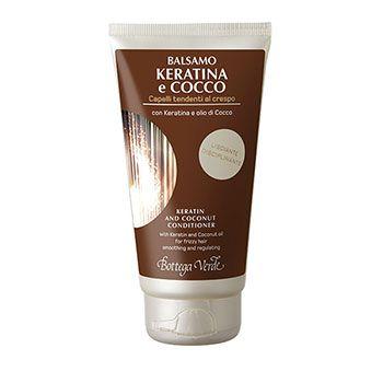 Balsamo Keratina e Cocco con Keratina e olio di Cocco (150 ml) - lisciante disciplinante -