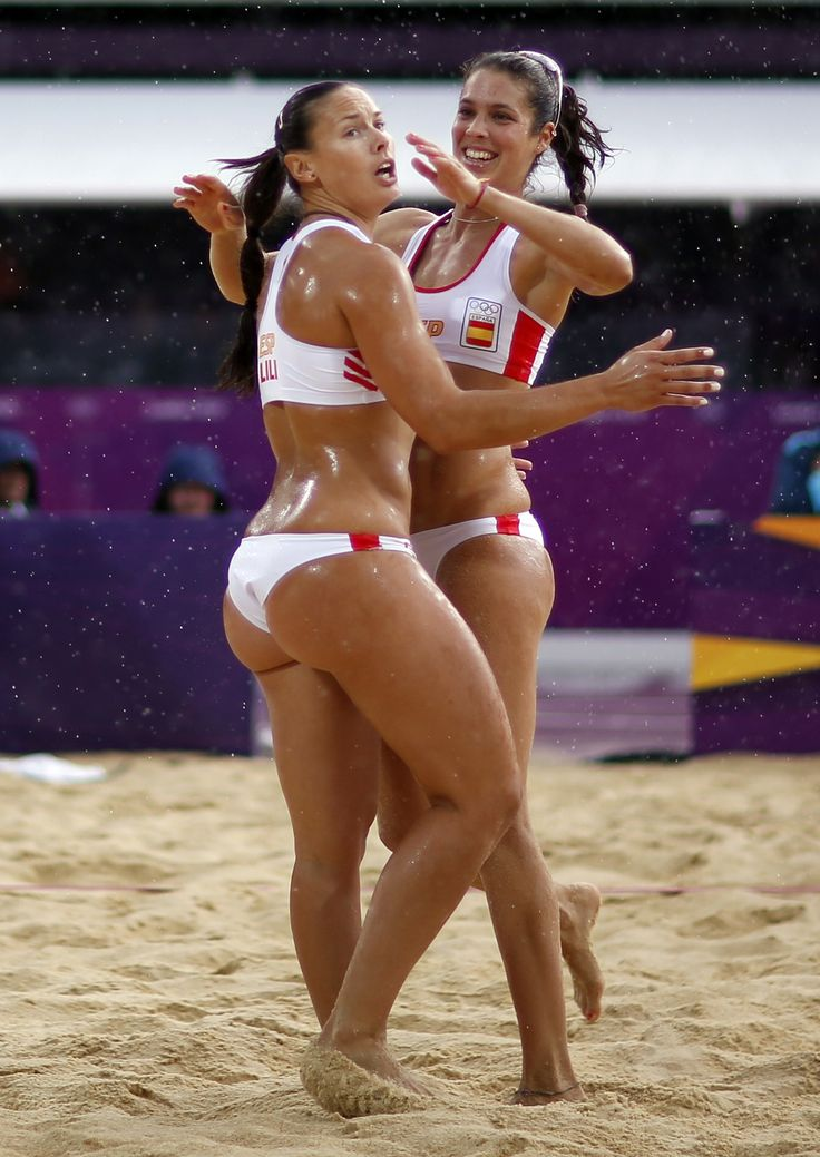 Girls beach ball fetish