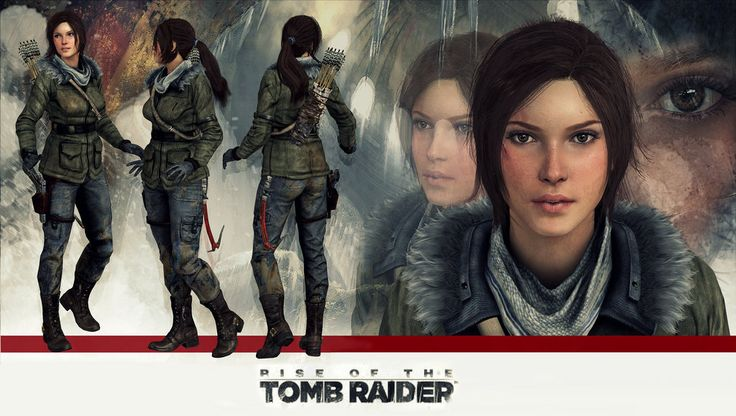Lara Croft Rise of the Tomb Raider model release by https://konradM96.deviantart.com on @deviantART