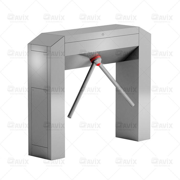 Двухштанговый тумбовый турникет Modul Cross Open Gate #турникеты #трипод #готшлих #gotschlich #box #tripod #turnstile #gate