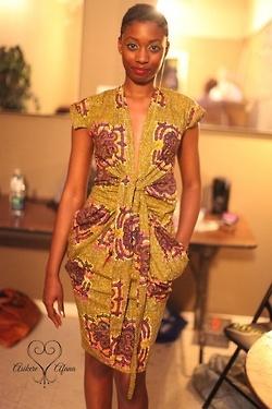 Love modern style w/ Ankara fabric
