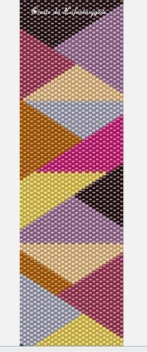 Diagonali-peyote par de http://ipeyotedilu.blogspot.com.es/