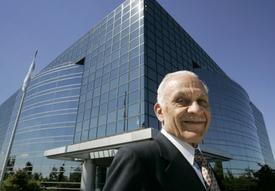 Amar Bose at Corporate Headquarters in Framingham, Massachusetts