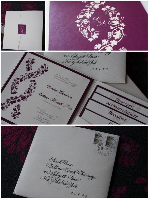 I like the invitation little folder for directions, accomodations, reception and rsvp!