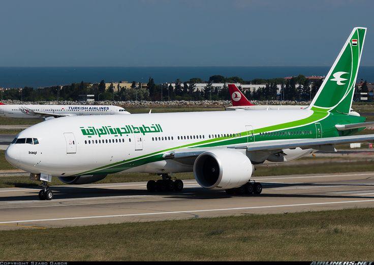 Iraqi Airways YI-AQZ Boeing 777-29M/LR aircraft picture