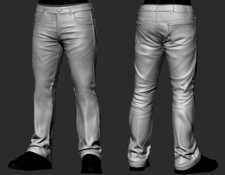 Jeans Study, Paul Packham on ArtStation at https://www.artstation.com/artwork/jeans-study