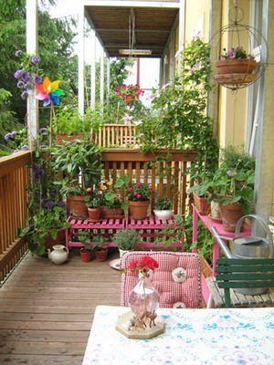 Das wird dann wohl das nächste Projekt... Mein Balkon muss schöner werden!