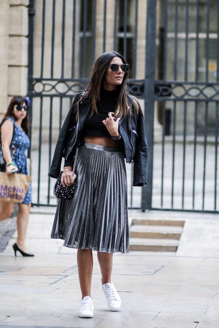 blog-mode-tendance-jupe-argentee-plissee
