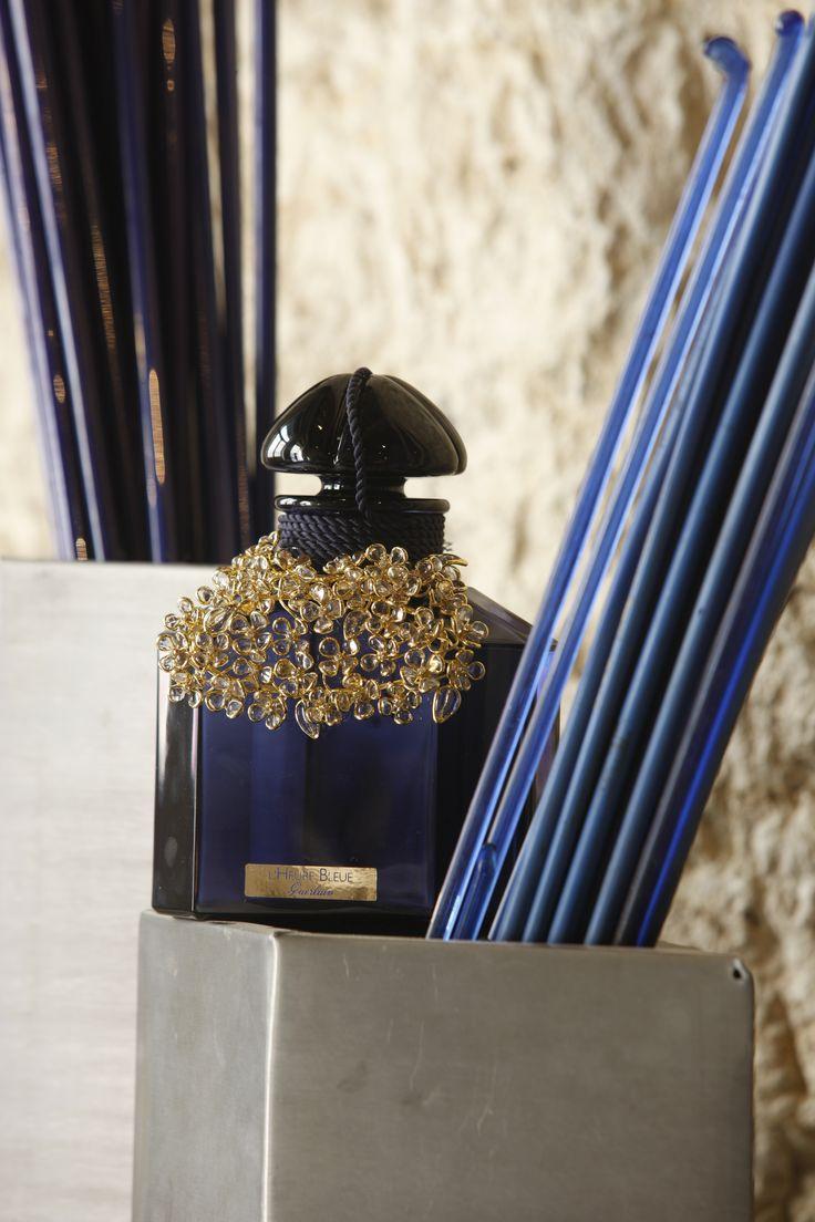 Guerlain X Gripoix #guerlain #gripoix #parfum #lheurebleue #jewelry