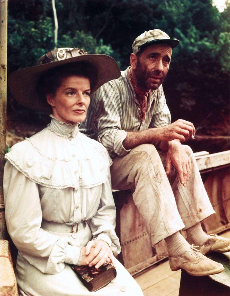 """FILM / """"L'Odyssée de l'African Queen"""" (The African Queen) est un film anglo-américain réalisé par John HUSTON et sorti en 1951,"""