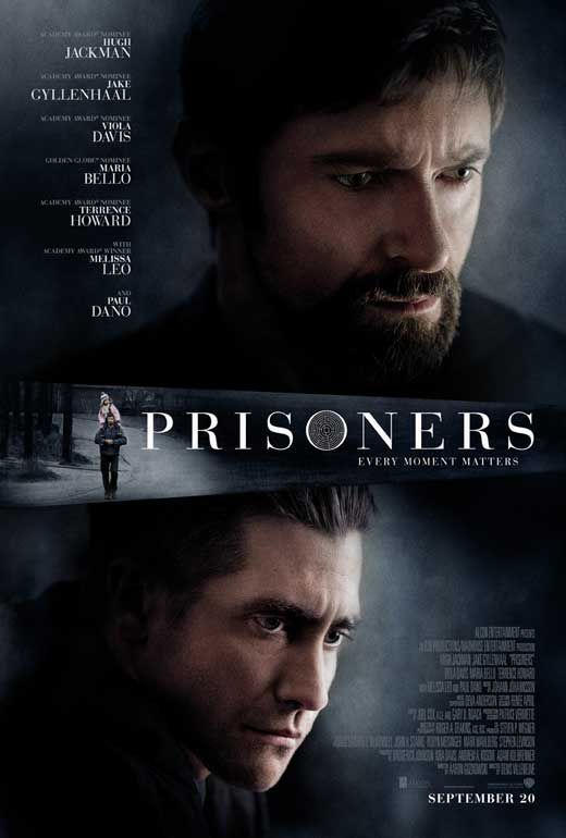 Prisoners. Nominated for Best Cinematography