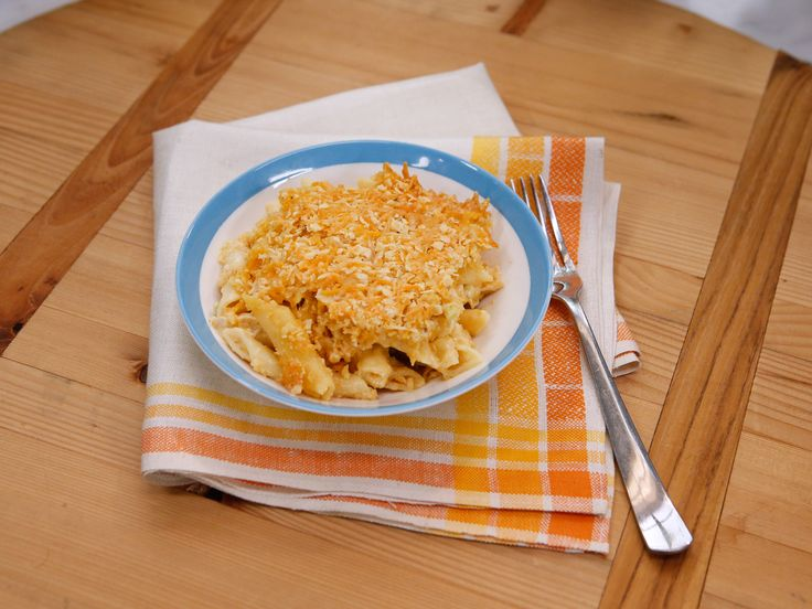 Sunny's Easy Chipotle Chicken Baked Mac and Cheese recipe from Sunny Anderson via Food Network