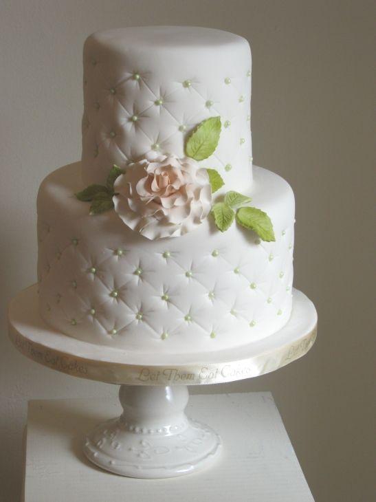 Let Them Eat Cakes: Small Wedding Cake - Hamilton