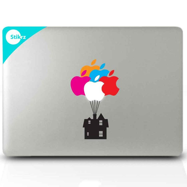 """""""Up"""" Mac Decal Sticker for your computer laptop board or wall by stikrz, $9.98. So clever!!!!"""