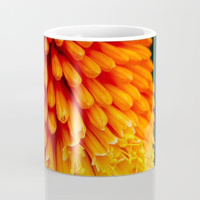 Kniphofia Rooperi Mug by Mixed Imagery | Society6