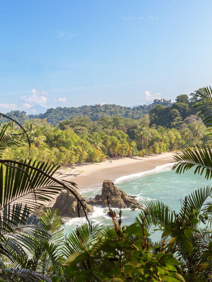 Playa Manuel Antonio, Costa Rica.  Costa Rica has over 750 miles of shoreline, but Playa Manuel Antonio on the Pacific coast is one of the most popular.