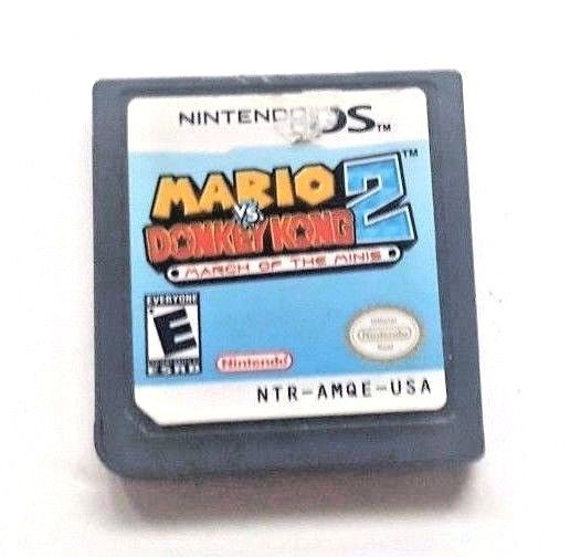 Nintendo DS Dsi Dsl Game MARIO VS DONKEY KONG 2 MARCH OF THE MINIS Classic Fun