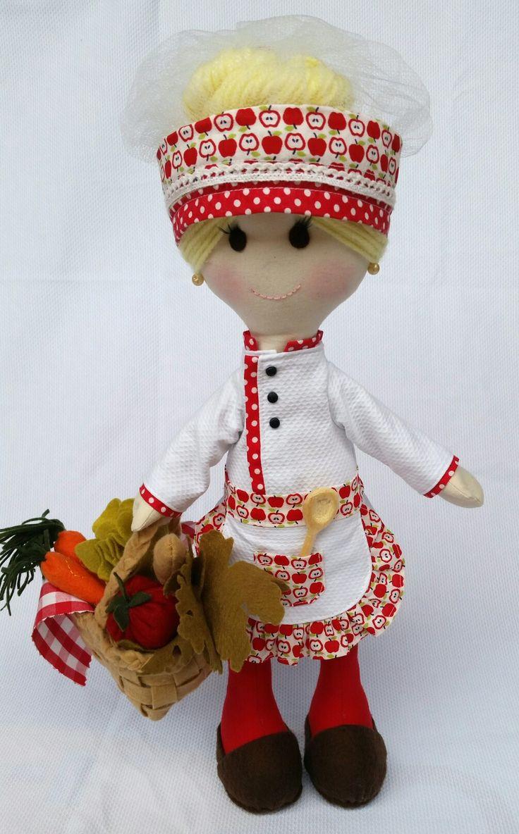 Doll cozinheira Master chef