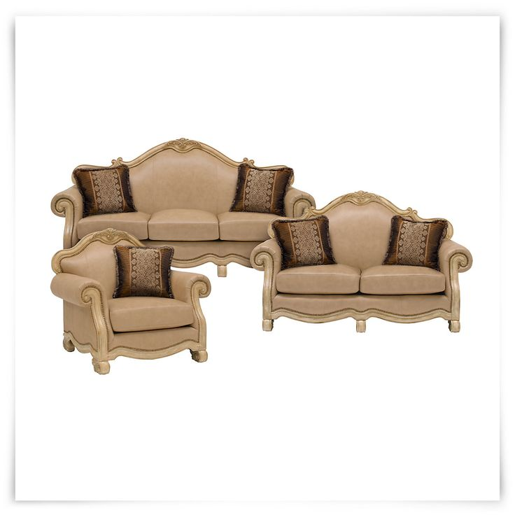 Old World Elegance: Sofa Includes: Pillows As Pictured Inspired By Old World