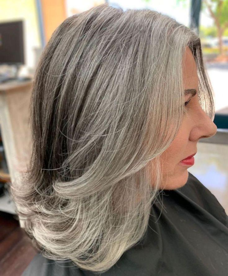65 gorgeous gray hair styles in 2020  short grey hair