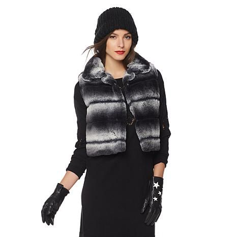 #French Rendez Vous Chatel #FauxFur #Vest https://www.hsn.com/products/french-rendez-vous-chatel-faux-fur-vest/8200951?variant=8230759 @hsn #Bolero #Clearance #CroppedJacket #DayAfterChristmas #Fashion #FurVest #Glamour #Holiday #MyStyle #SalesEvent #Shopping #Style #Womenswear