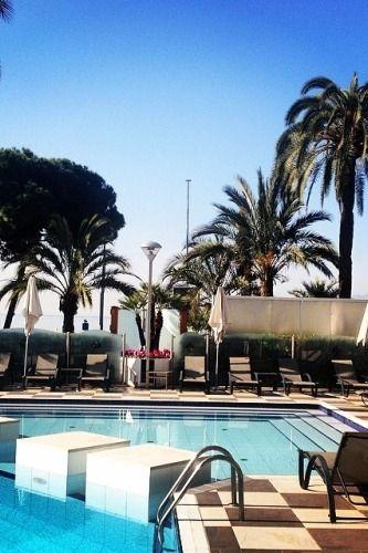 Best way to start the day! {Grand Hyatt Cannes Hotel Martinez}